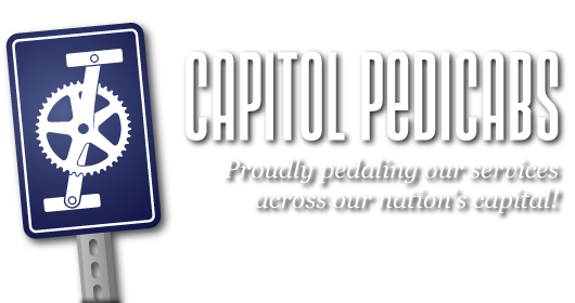 Capitol Pedicabs: Proudly pedaling our services across our nation's capital!
